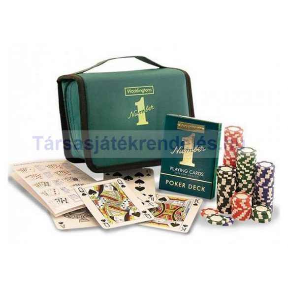 Waddington pókerszett