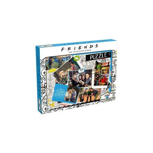Puzzle 1000 db-os - Jóbarátok vendégkönyv - Winning Moves 39611