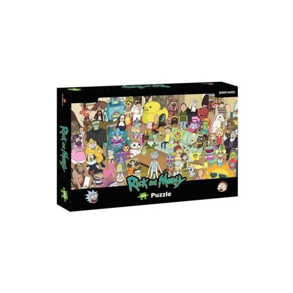 Puzzle 1000 db-os - Rick és Morty - Winning Moves 39703