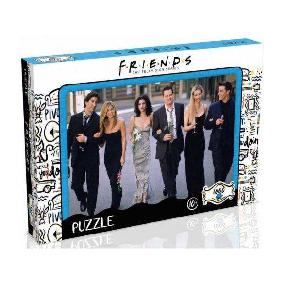 Puzzle 1000 db-os - Jóbarátok Bankett - Winning Moves 42246