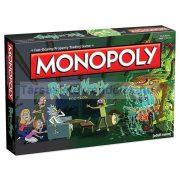 Monopoly Rick and Morty társasjáték - angol nyelvű