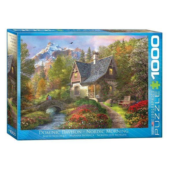 Eurographics 1000 db-os Puzzle - Dominic Davison - Nordic Morning - 6000-0966 - Sérült dobozos