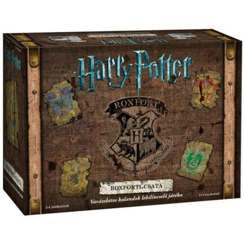 Harry Potter: Roxforti csata társasjáték - ENYHÉN SÉRÜLT DOBOZOS