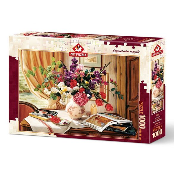 ART 1000 db-os puzzle - Art Corner - 4222 - SÉRÜLT DOBOZOS