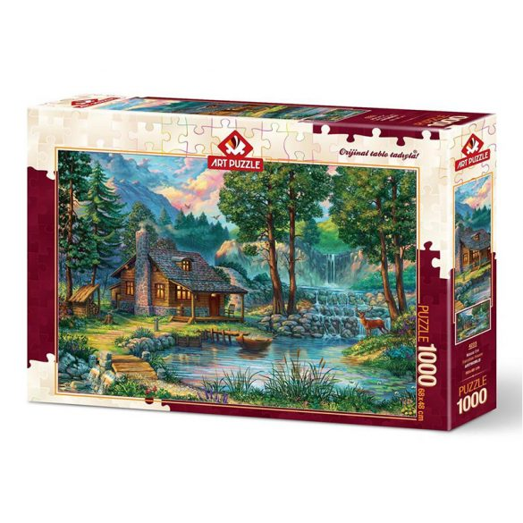 ART 1000 db-os Puzzle - Fairytale House - 4223 - SÉRÜLT DOBOZOS