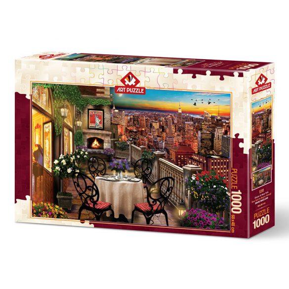 ART 1000 db-os Puzzle - Dinner in New York - 5184 - SÉRÜLT DOBOZOS