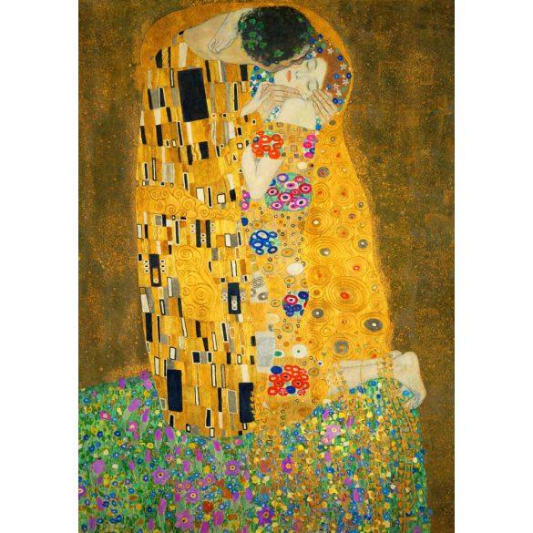Art by Bluebird 1000 db-os puzzle - Gustave Klimt: The Kiss, 1908 - 60015 - SÉRÜLT DOBOZOS