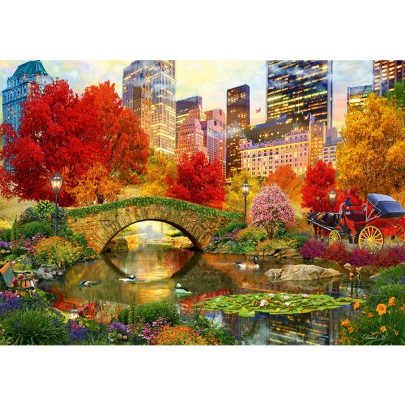 Bluebird 1000 db-os Puzzle - Central Park NYC - 70244 - SÉRÜLT DOBOZOS