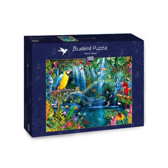 Bluebird 1000 db-os Puzzle - Parrot Tropics - 70298 - SÉRÜLT DOBOZOS