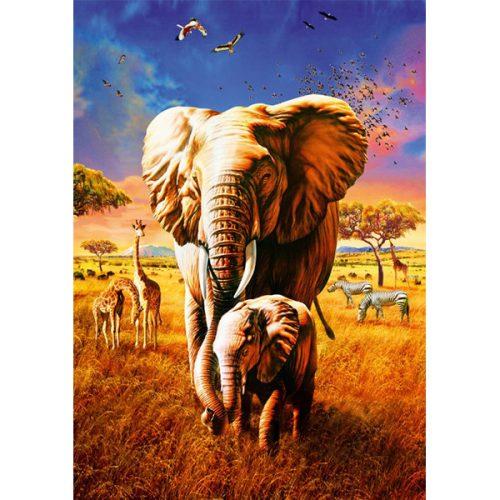 Bluebird 1000 db-os Puzzle - Elephant - 70314 - SÉRÜLT DOBOZOS