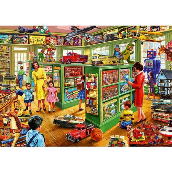 Bluebird 1000 db-os puzzle - Toy Shop Interiors - 70324 - SÉRÜLT DOBOZOS