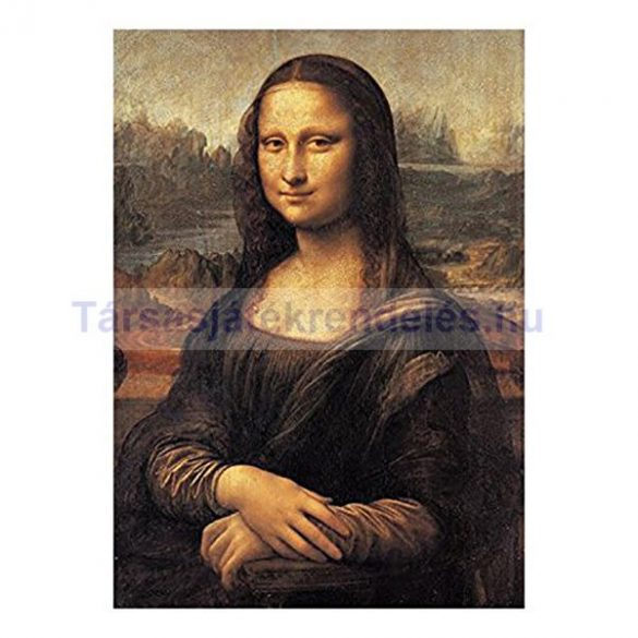 Puzzle 500 db-os - Leonardo: Mona Lisa - Clementoni (30363) - SÉRÜLT DOBOZOS