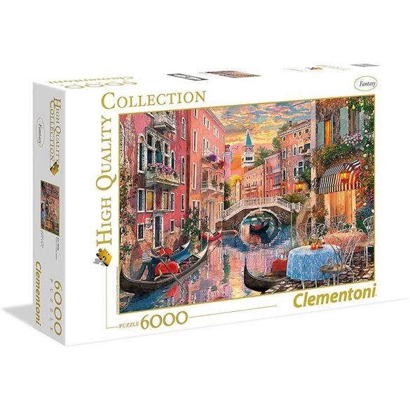 Puzzle 6000 db-os - Velencei naplemente - Clementoni 36524 - SÉRÜLT