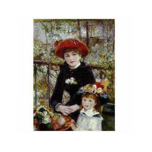 D-Toys 1000 db-os puzzle - Renoir : On the Terrace 66909 - SÉRÜLT DOBOZOS