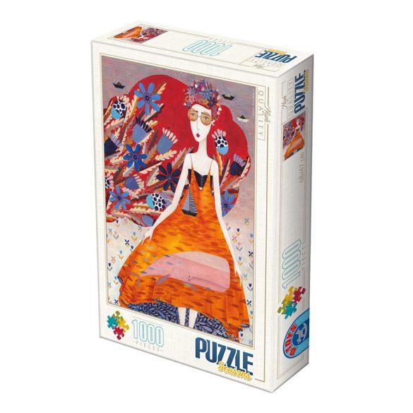 D-Toys 1000 db-os Puzzle - Kürti Andrea: Summer - 74645 SÉRÜLT DOBOZOS