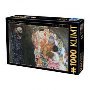 D-Toys 1000 db-os puzzle - Gustav Klimt, 1916 - 74935 - SÉRÜLT DOBOZOS