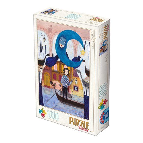D-Toys 1000 db-os Puzzle - Kürti Andrea: Venice - 75246 SÉRÜLT DOBOZOS