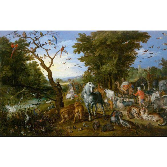 D-Toys 1000 db-os puzzle - Brueghel Pieter: Noah's Ark - 75253 SÉRÜLT DOBOZOS