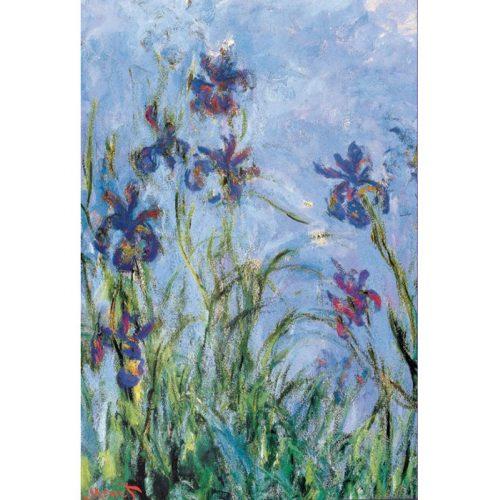 Eurographics 1000 db-os Puzzle - Claude Monet: Irises (Detail) - 6000-2034 - SÉRÜLT DOBOZOS