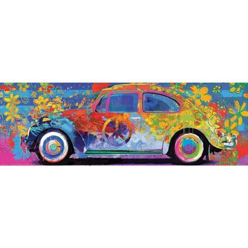 Eurographics 1000 db-os Puzzle - VW Beetle - Splash Pano - 6010-5441 SÉRÜLT DOBOZOS