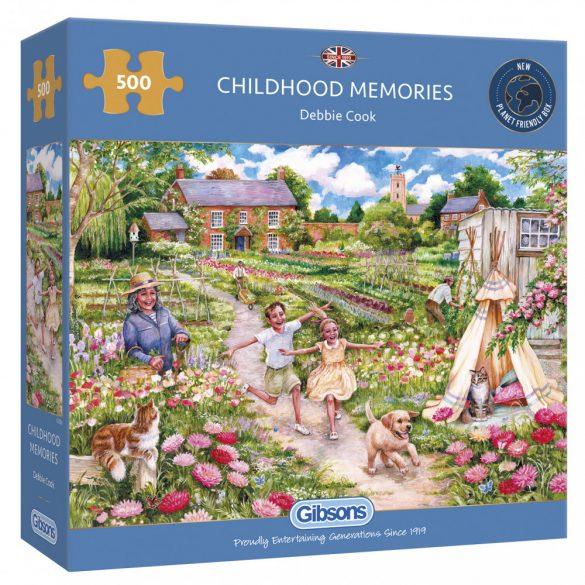 Gibsons 500 db-os puzzle - Childhood Memories 3126 SÉRÜLT DOBOZOS