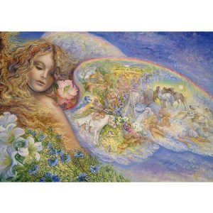 Grafika 2000 db-os puzzle - Josephine Wall: Wings of Love 00334T - SÉRÜLT DOBOZOS
