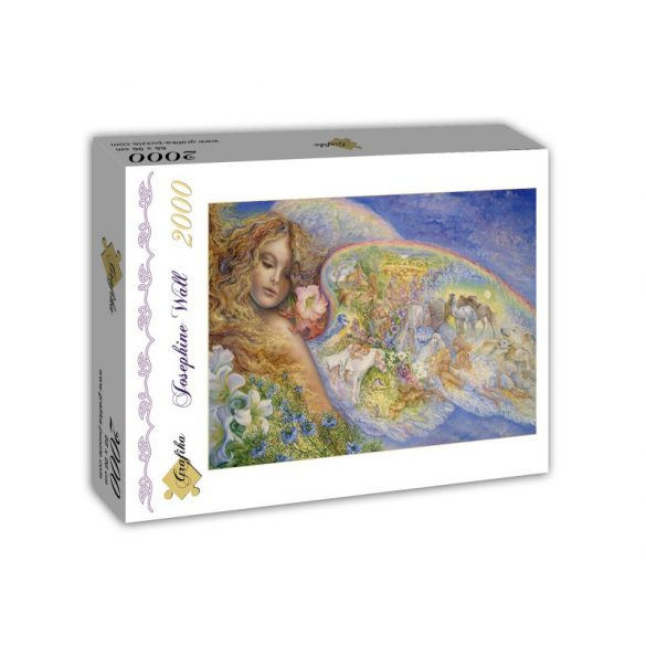 Grafika 2000 db-os puzzle - Josephine Wall: Wings of Love 00334T - SÉRÜLT DOBOZOS