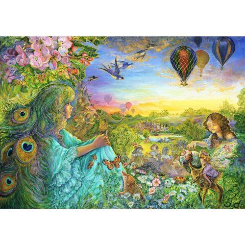 Grafika 1500 db-os puzzle - Josephine Wall: Daydreaming 00530T - SÉRÜLT DOBOZOS