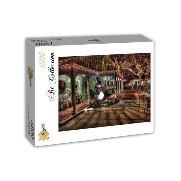 Grafika 1500 db-os puzzle - Snowman 00662T - SÉRÜLT DOBOZOS