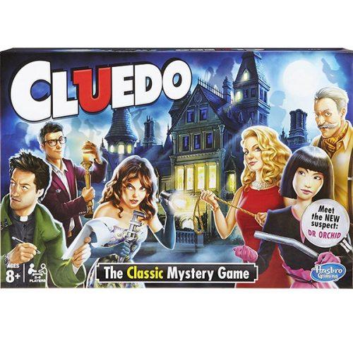 Cluedo társasjáték 2017 - A klasszikus rejtélyek játéka Hasbro - SÉRÜLT DOBOZOS