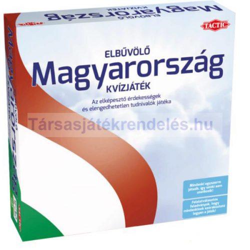 Elbűvölő Magyarország kvízjáték - Tactic - SÉRÜL DOBOZOS