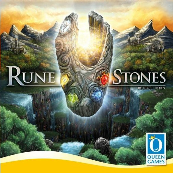 Rune Stones társasjáték - Queen Games - ENYHÉN SÉRÜLT