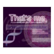 That's me psychologisches gesellschaftsspiel/német nyelvű Identity társasjáték