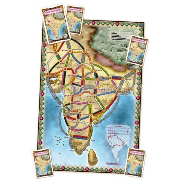 Ticket to Ride India & Switzerland-Map Collection: 2. kiegészítő
