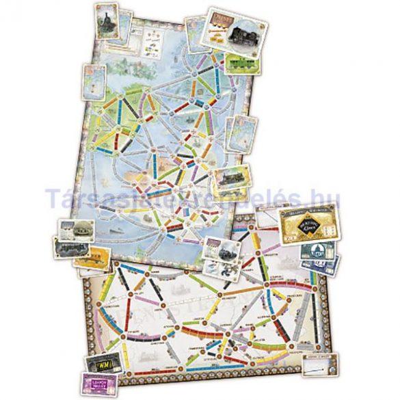 Ticket to Ride United Kingdom & Pennsylvania-Map Collection: 5. kiegészítő