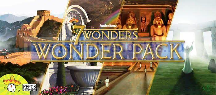 7 Wonders Wonder Pack - kiegészítő csodák