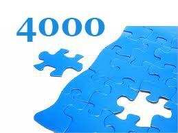 4000 darabos