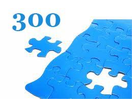 300 darabos