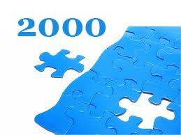 2000 darabos