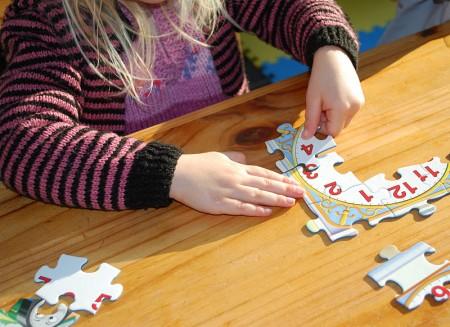 Gyermek puzzle 2-500 darabos