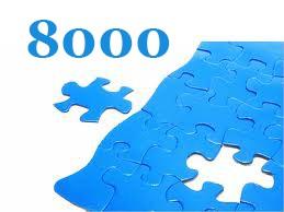 8000 darabos